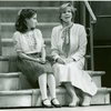 [Emily Loesser (Liesl) and Debby Boone (Maria Rainer) in the 1990 revival of The Sound of Music]
