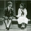 [Marc Heller (Rolf Gruber) and Emily Loesser (Liesl) in the 1990 revival of The Sound of Music]