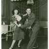 [Mildred Law (Sue) and Hal LeRoy (Al Terwilliger) in Too Many Girls]