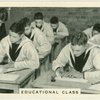 Royal Navy, educational classes.