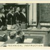 Royal Navy, technical instruction.