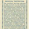 Royal Navy, technical instruction.