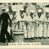 Royal Navy, rope splicing class.
