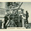 Royal Navy, gunnery practice.