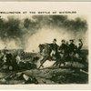 Wellington at the Battle of Waterloo.