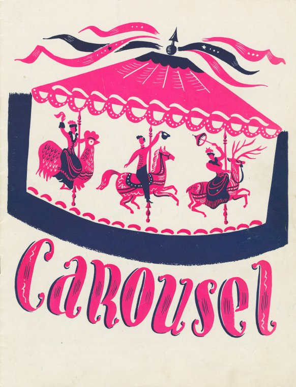Carousel souvenir program, 1945
