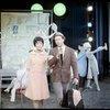 [Diahann Carroll (Barbara Woodruff), Richard Kiley (David Jordan) and cast in No Strings]