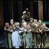 [Richard Kiley (David Jordon) and dancers in No Strings]
