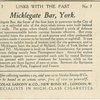 Micklegate Bar, York.