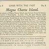Magna Charta Island.