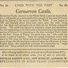 Carnarvon Castle, Carnarvonshire.