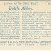 Battle Abbey, Hastings.