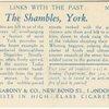 The Shambles, York.