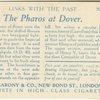 The Pharos, Dover.