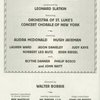 [Program for the 2002 concert presentation of Carousel]
