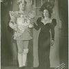 Robert Chisholm (King Arthur) and Vivienne Segal (Queen Morgan Le Fay) in the 1943 revival of A Connecticut Yankee]