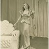 Vivienne Segal (Queen Morgan Le Fay) in the 1943 revival of A Connecticut Yankee]