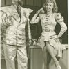 Robert Chisholm (King Arthur) and Vera-Ellen (Mistress Evelyn La Belle-Ans) in the 1943 revival of A Connecticut Yankee]