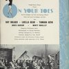 [Souvenir program for On Your Toes]