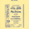 Program for the out-of-town tryout of Pipe Dream, dated October 22-29, 1955, at the Shubert Theatre (New Haven, Conn.)