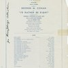 Program. Special performance: George M. Cohan in I'd Rather Be Right, for the benefit of The Stage Relief Fund