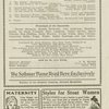 Program for Poor Little Ritz Girl, dated July 28, 1920, at the Central Theatre (New York, N.Y.)