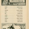 Program for the 1952 revival of Pal Joey, at  The Broadhurst Theatre