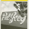 Program for a preview performance of the 2008 revival of Pal Joey