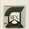 Program for the opening night of Rex, April 25, 1976