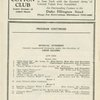 [Program (dated 1/16/1928) for She's My Baby at the Globe Theatre (New York, N.Y.]