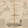 Map of the Submarine Atlantic Telegraph between Europe and America