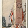 Armistice Day at the Cenotaph.