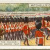 Trooping the Colour, Scots Guards March Past.