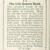 The Life Guards Band.
