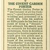 The Covent Garden Porter.