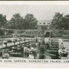 Dutch Sunk Garden, Kensington Palace, London.