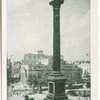 Trafalgar Square, Nelson Column, London.