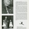 [Souvenir program for the 1983 revival of On Your Toes]