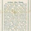 Aries, the Ram.