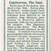 Capricornus, the Goat.