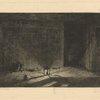 Le corridor de l'auberge, effet de nuit (another impression)