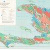 Carte hydrogéologique, République d'Haïti