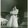 Joan Roberts (Laurey) and Alfred Drake (Curly) in Oklahoma!]