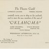 [Invitation from the Theatre Guild to a party (July 12, 1944) to meet replacement cast members in Oklahoma!]