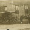 Lincoln Hospital and Home horse-drawn ambulance.