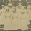 Group portrait of Lincoln School nurses.