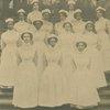 Group portrait of Lincoln School nurses.