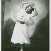 [Claire Pasch (Dream Laurey) in the 1951 revival of Oklahoma!]