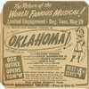 Advertisement in The New York Times (5/20/1951) for the revival of Oklahoma!