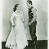 [Florence Henderson (Laurey) and Alfred Cibelli, Jr. (Jud Fry) in the 1953 revival of Oklahoma!]